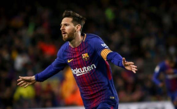 Messi ghi hat-trick, Barca lap ky luc bat bai o La Liga hinh anh