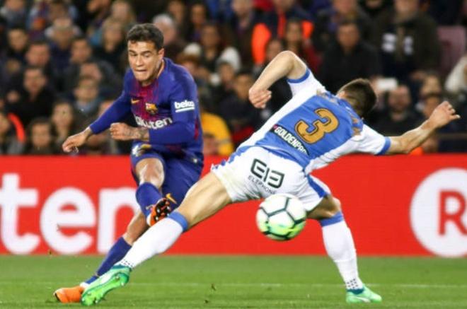 Messi ghi hat-trick, Barca lap ky luc bat bai o La Liga hinh anh 2