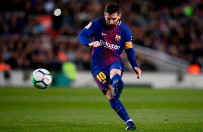 Messi ghi hat-trick, Barca lap ky luc bat bai o La Liga hinh anh 4