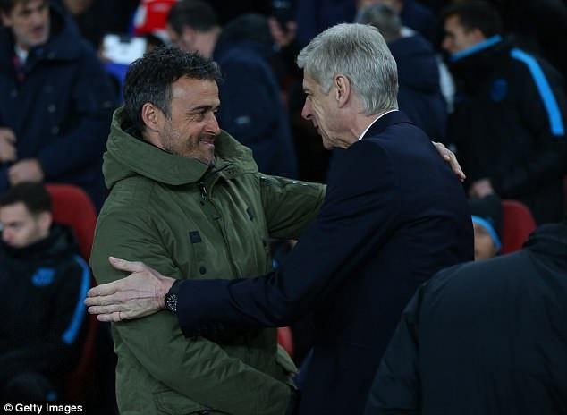 Dam phan voi Arsenal, Luis Enrique san sang thay Wenger hinh anh 1