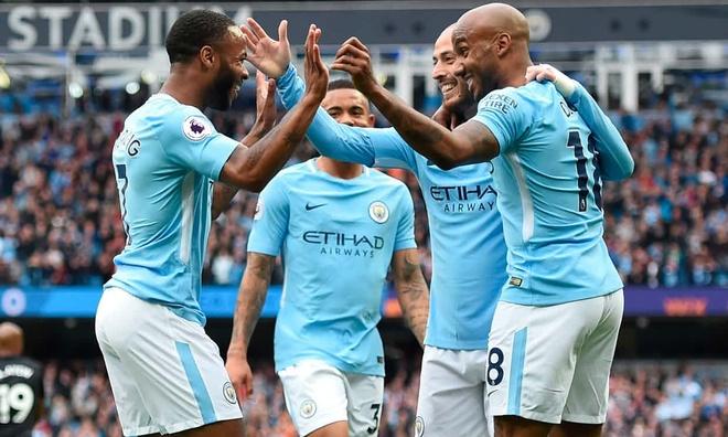 Man City 5-0 Swansea: Tan vuong thi uy suc manh hinh anh