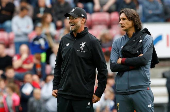 Liverpool mat pho tuong truoc tran gap Roma anh 1