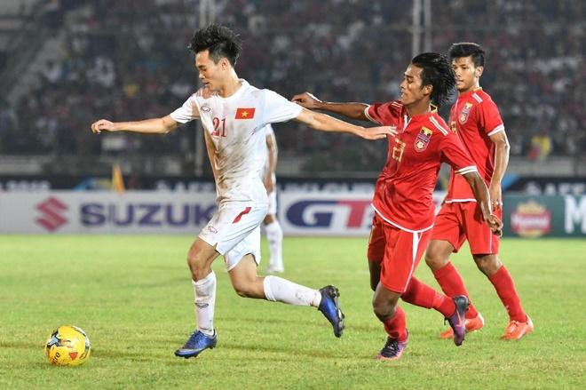 Viet Nam dung Malaysia, Myanmar tai AFF Cup 2018 hinh anh