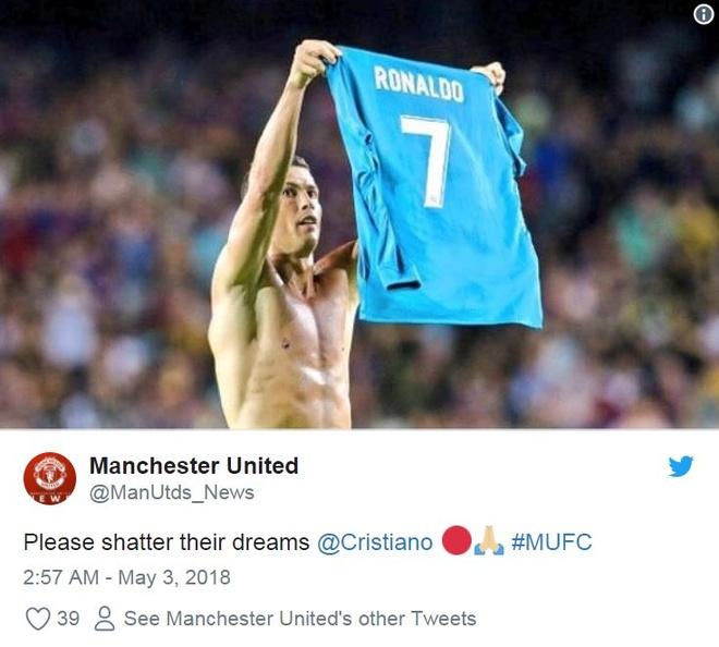 Fan MU cau xin Ronaldo ngan Liverpool vo dich Champions League hinh anh 7