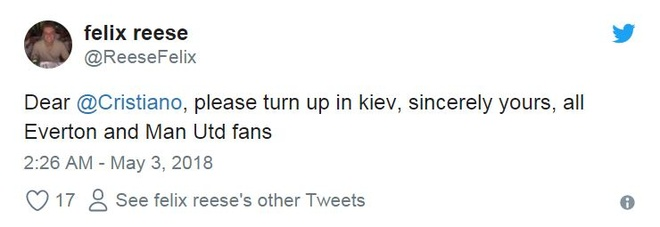 Fan MU cau xin Ronaldo ngan Liverpool vo dich Champions League hinh anh 9