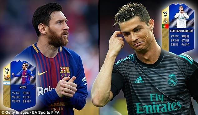 Ghi kem 9 ban, Ronaldo van co chi so cao hon Messi trong game hinh anh