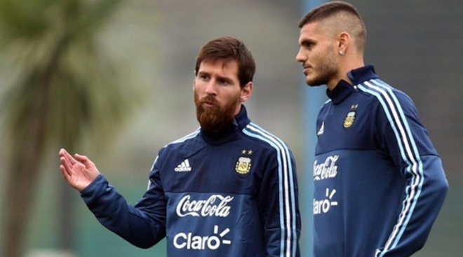 Vi Messi, Icardi khong co cua du World Cup hinh anh