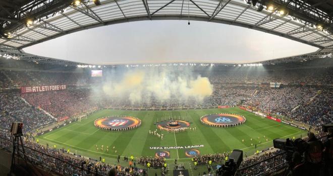 Griezmann lap cu dup giup Atletico Madrid dang quang Europa League hinh anh 11
