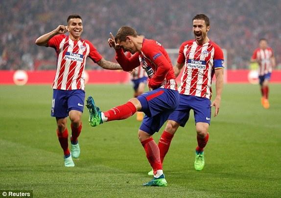 Griezmann lap cu dup giup Atletico Madrid dang quang Europa League hinh anh 19