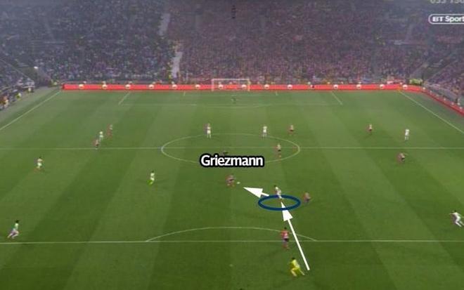 Griezmann lap cu dup giup Atletico Madrid dang quang Europa League hinh anh 17