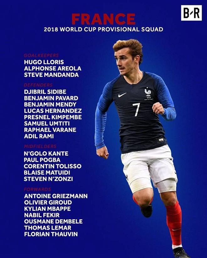 Martial, Lacazette va doi hinh sao Phap ngoi nha xem World Cup hinh anh 13