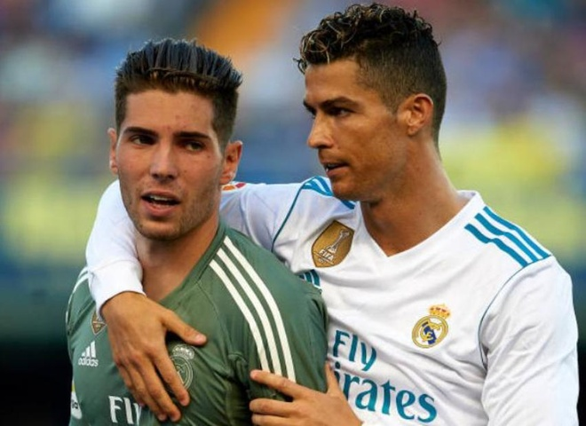 Con trai Zidane bat chinh, Real mat diem du dan 2 ban hinh anh