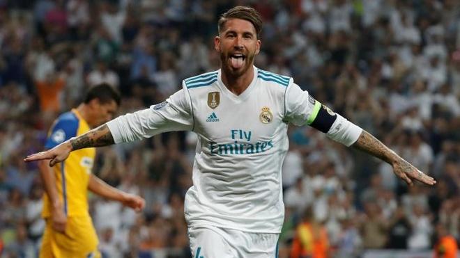 Ramos trang an sau pha xau choi o chung ket Champions League hinh anh