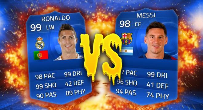 Choi hay nua mua, Ronaldo van co chi so cao hon Messi trong game hinh anh