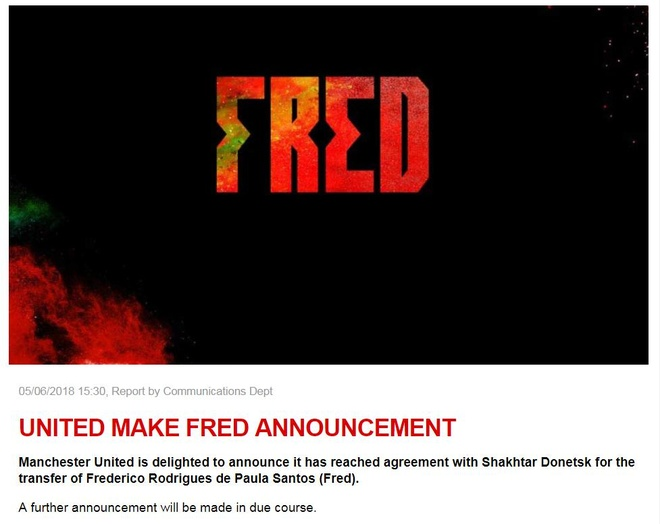 Man Utd chieu mo Fred anh 1