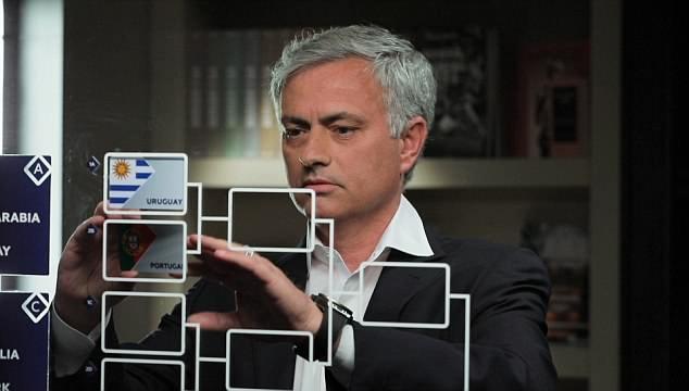 Mourinho mong cac hoc tro som bi loai o World Cup 2018 hinh anh 1