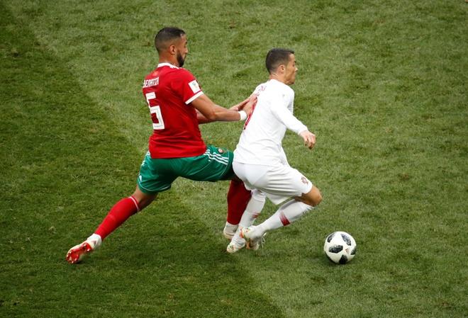 Ronaldo toa sang, Bo Dao Nha nhoc nhan vuot ai Morocco hinh anh 23