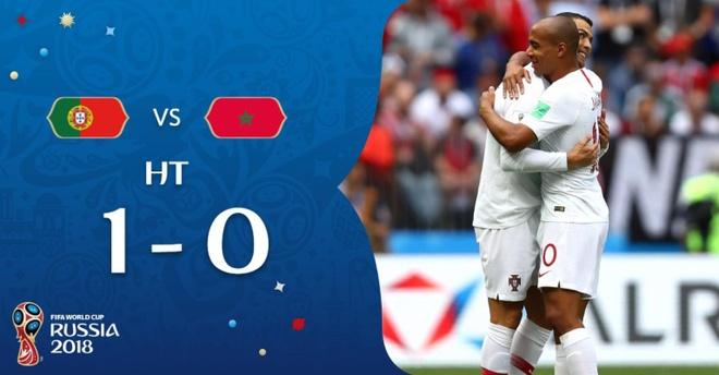 Ronaldo toa sang, Bo Dao Nha nhoc nhan vuot ai Morocco hinh anh 27
