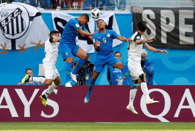 Bung no phut bu gio, Brazil tien Costa Rica roi World Cup hinh anh 20