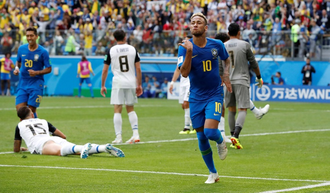 Bung no phut bu gio, Brazil tien Costa Rica roi World Cup hinh anh 41