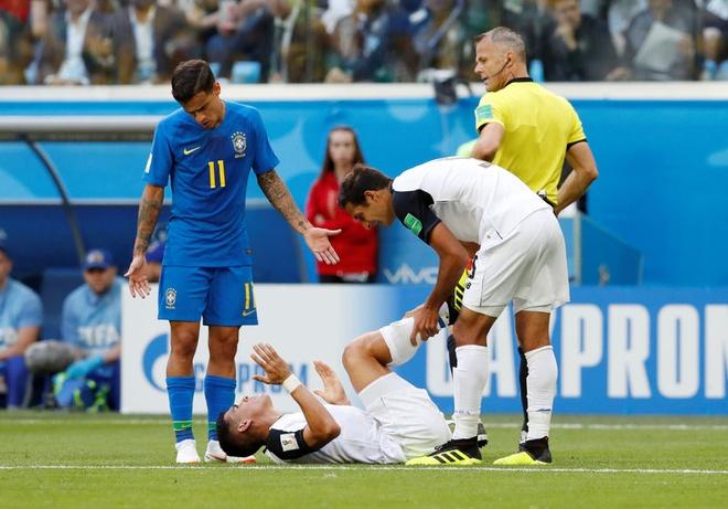 Bung no phut bu gio, Brazil tien Costa Rica roi World Cup hinh anh 38