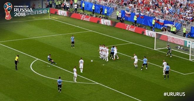 Hau ve Nga day Cavani mo duong cho Suarez ghi ban tu cham da phat hinh anh 7