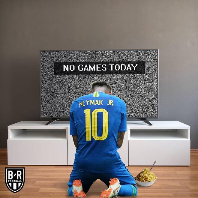 Ronaldo, Neymar lam gi trong ngay World Cup tam nghi? hinh anh 1