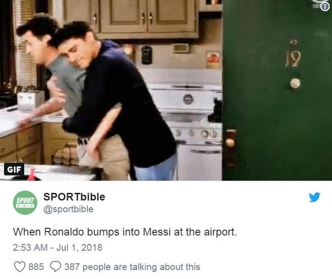 CDV buon ba vi Ronaldo, Messi bi loai trong cung mot ngay hinh anh 2