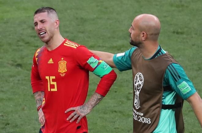 VAR lai gay tranh cai vi tu choi cho Tay Ban Nha huong penalty hinh anh