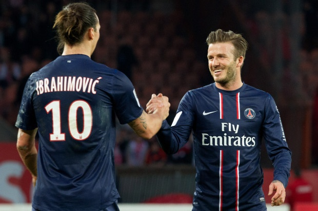 Beckham, Ibra 'ca do' truoc dai chien Anh - Thuy Dien hinh anh
