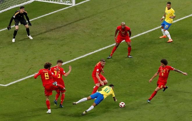 Trong tai duoc ca ngoi vi 3 lan tu choi cho Brazil huong penalty hinh anh 5