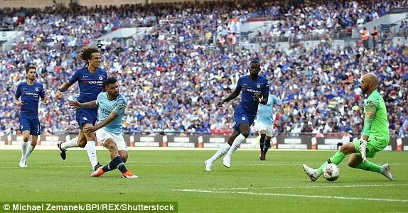 Aguero lap cu dup, Man City ha Chelsea de gianh sieu cup Anh hinh anh 29