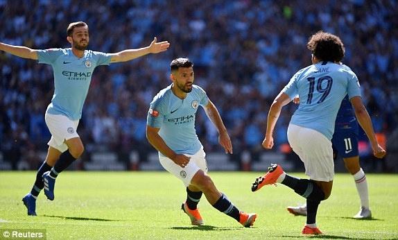 Aguero lap cu dup, Man City ha Chelsea de gianh sieu cup Anh hinh anh 20