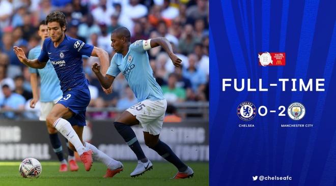 Aguero lap cu dup, Man City ha Chelsea de gianh sieu cup Anh hinh anh 32