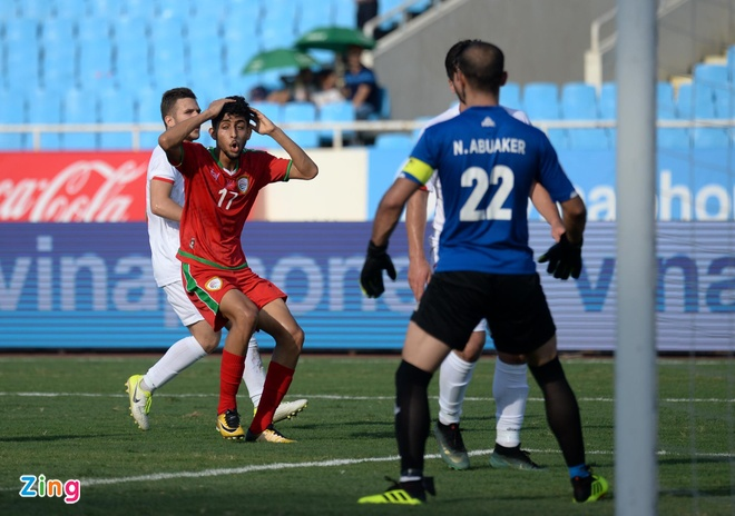 U23 Oman 1-1 U23 Palestine: Tien ve nhan the do ngay sau khi ghi ban hinh anh 7