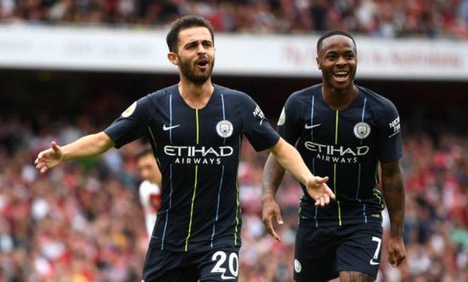 Arsenal 0-2 Man City: Dang cap nha vo dich hinh anh