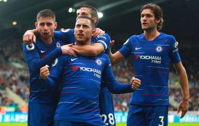 Chelsea nhoc nhan vuot ai Newcastle nho penalty va ban phan luoi hinh anh