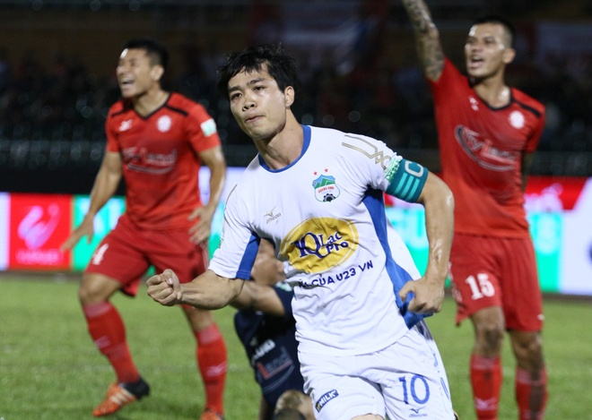HAGL thua 3-5 truoc CLB TP.HCM tren san Thong Nhat hinh anh