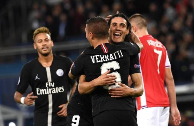 PSG 6-1 Crvena Zvezda: Neymar lap hat-trick hinh anh 7