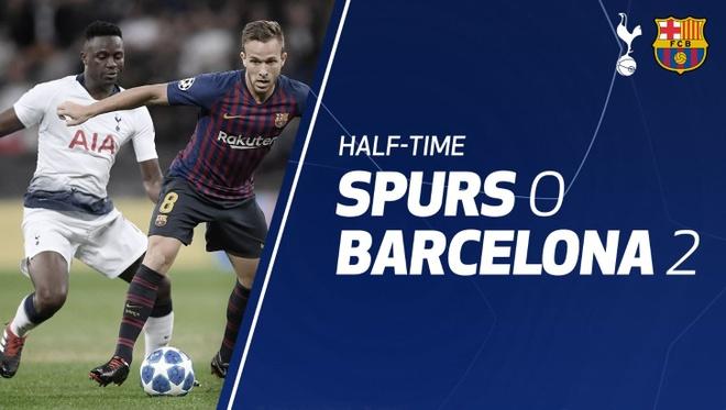 truc tiep Barcelona vs Tottenham anh 15