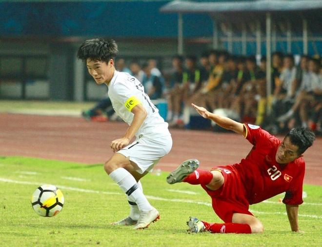 Highlights U19 Viet Nam thua dang tiec truoc U19 Han Quoc hinh anh