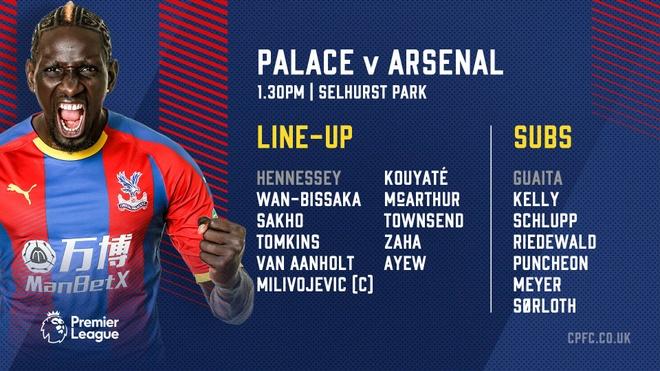 Crystal Palace vs Arsenal anh 3
