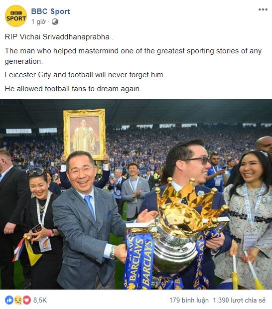 Truyen thong chau Au dau buon truoc su ra di cua chu tich Leicester hinh anh 4