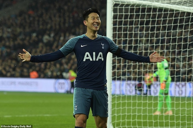 Highlights West Ham 1-3 Tottenham: Son Heung-min lap cu dup hinh anh
