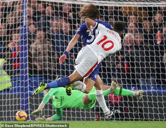 Kết quả hình ảnh cho Chelsea 3-1 Crystal Palace