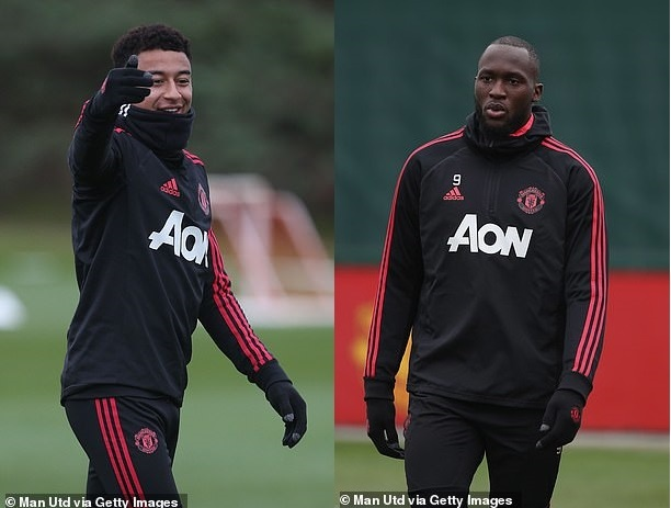 Lukaku u dot, Pogba vang mat o buoi tap truoc derby Manchester hinh anh 4