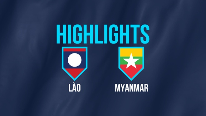 Highlights AFF Cup: DT Lao 1-3 DT Myanmar hinh anh