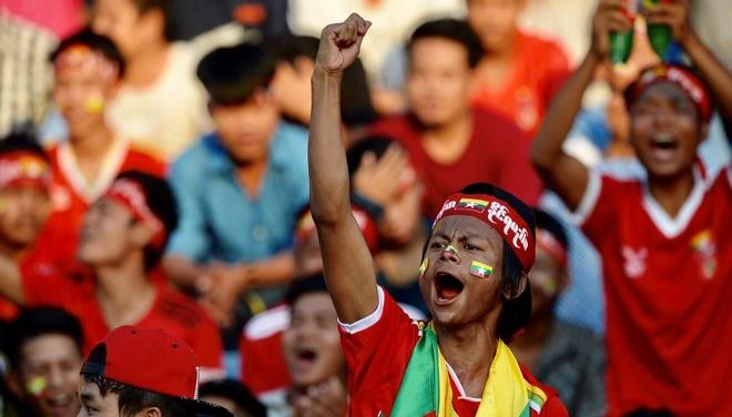 Tuyen Viet Nam doi mat suc ep lon tu CDV chu nha Myanmar hinh anh