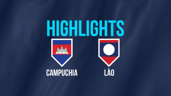 Highlights AFF Cup: DT Campuchia 3-1 DT Lao hinh anh