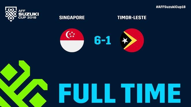 Huy diet Timor Leste 6-1, Singapore 'tu chien' voi Thai Lan luot cuoi hinh anh 6